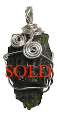 CHROME DIOPSIDE Crystal Pendant - zen jewelz