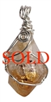 CITRINE Crystal Pendant - zen jewelz