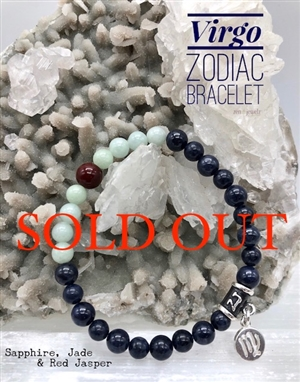 Zodiac Birthstone Bracelet VIRGO | zen jewelz by ZenJen