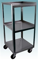 3 Shelf Utility Cart Compact
