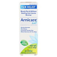 Arnica Cream Natural Pain Relief Gel