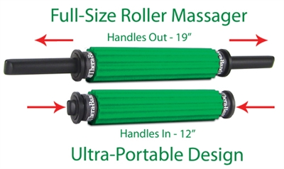 The Green Thera-Band® Roller Massager+ Portable