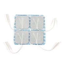 "Bodymed Self Adhering Fabric Back Electrodes 2""X2"" 10 Pack"