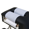Economy Headrest Paper Roll Smooth 8.5x225 White