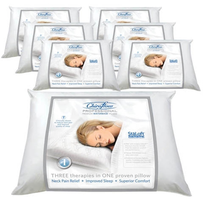 Chiroflow Professional Premium Waterbase Pillow  Buy 6 Get 1 Free