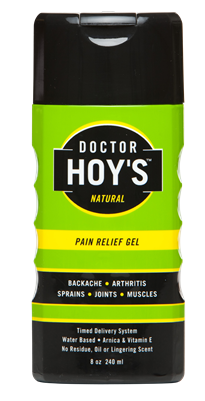DOCTOR HOY'S Natural Pain Relief Gel 8oz