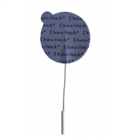 "Dura-Stick® Plus Electrode With Blue Foam Backing 2"" Round"