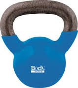 BodySport 18 Lb Kettlebell, Latex-Free, Blue