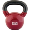 BodySport 30lb Kettlebell, Latex-Free, Dark Red