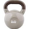 BodySport 45lb Kettlebell, Latex-Free, Gray