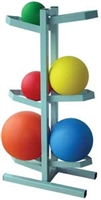 Medicine Ball Storage Rack 6 Balls
