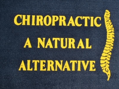 Chiropractic A Natural Alternative Doormat