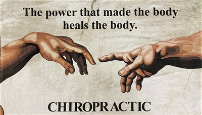 Chiropractic Beach Towel