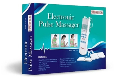 SantaMedical Tens Handheld Electronic Pulse Massager