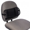 Sitback Rest Mesh D-Roll Lumbar Support Black