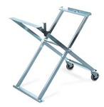 160197, Folding Stand with Caster Wheels
