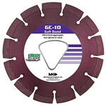 "171934 GC-10 Early Entry Blades for Ultra Hard Aggregate 6-3/8""x.100xTri-1"""
