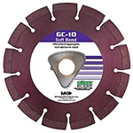 "172620 GC-10 Early Entry Blades for Ultra Hard Aggregate 10""x.100xTri arbor"