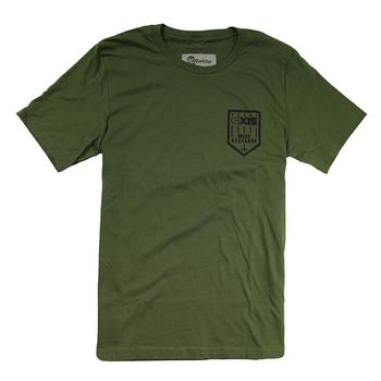Axis Flag Tee - Olive Green