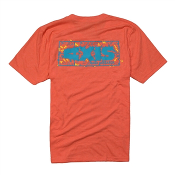 Axis Party Tee - Heather Orange