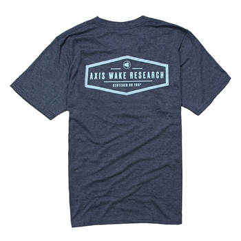Axis Mark Tee - Indigo Heather