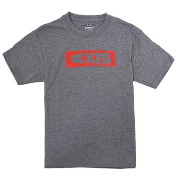 Axis Youth Box Tee - Graphite Heather