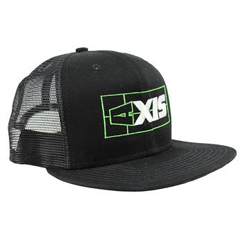 Axis New Era Trucker Cap - Black