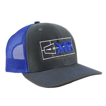 Axis Classic Trucker Cap - Charcoal / Royal