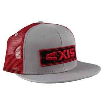 Axis Research Cap - Steel Grey / Scarlet