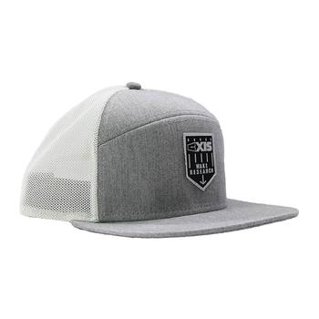 Axis Tradesman Cap - Heather Grey / White