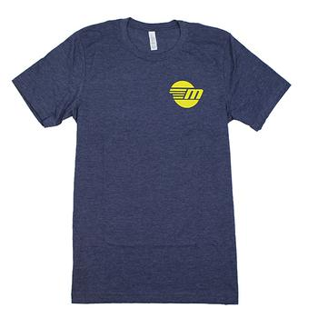 Icon Logo Tee - Heather Midnight Navy