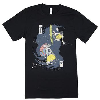 Wake / Surf Duel Tee - Black