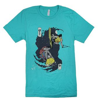 Wake / Surf Duel Tee - Teal