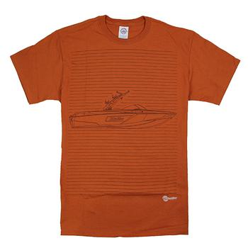 Outline Tee - Austin Orange