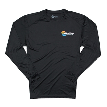 Core LS Sun Shirt - Black