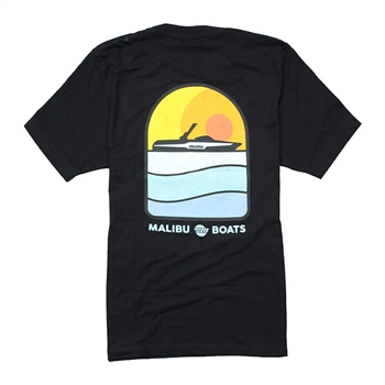 Sunset Tee - Black