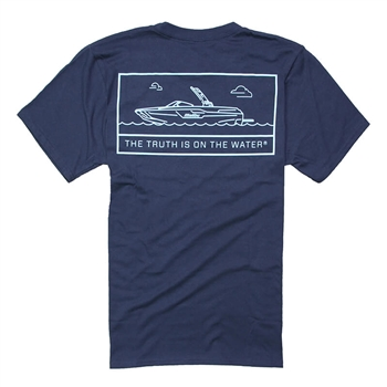 Profile Tee - Navy