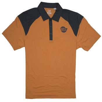C&B Chelan Polo - Orange Heather
