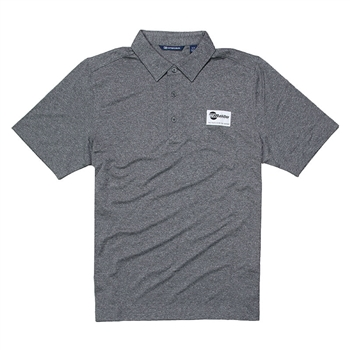 Forge Heather Polo - Charcoal