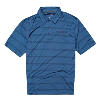 Nike Fade Stripe Polo - Photo Blue