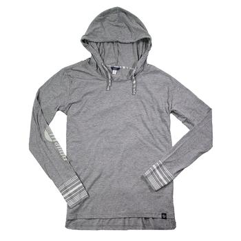 Ladies Serenity Hooded Tee - Graphite