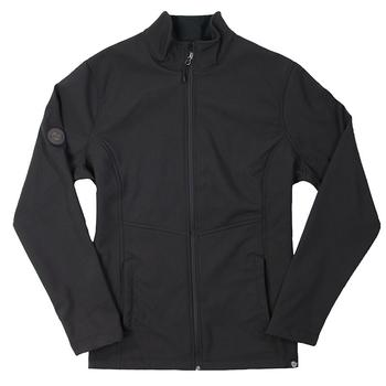 Ladies Stretch Softshell Jacket - Black
