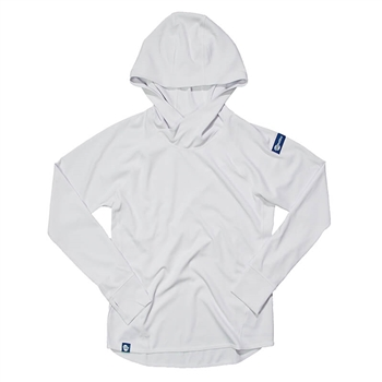 Ladies Traverse Pullover Hoodie - White