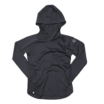 Ladies Traverse Pullover Hoodie - Black
