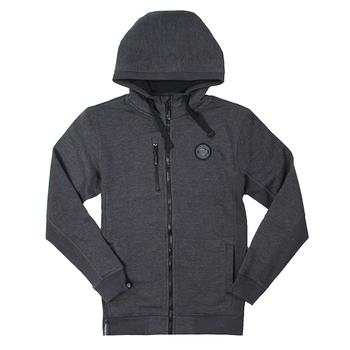 Metro Full-Zip Hoodie - Carbon Heather
