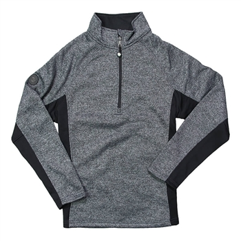 Spyder 1/2 Zip Sweater - Black Heather