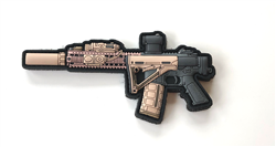 MK18 LAW VELCRO BACKED PVC PATCH