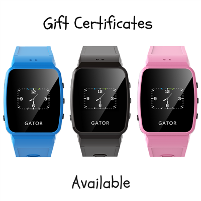 Gift Certificates - My Gator Watch by Techsixtyfour