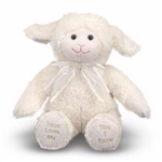 Plush-Singing Lamb/Jesus Loves Me: 000772074216