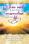 Bulletin-Jesus Said...I Am The Resurrection And The Life: 0730817356044